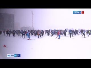 Более двух тысяч жителей Тверской области вышли на старт «Лыжни России»