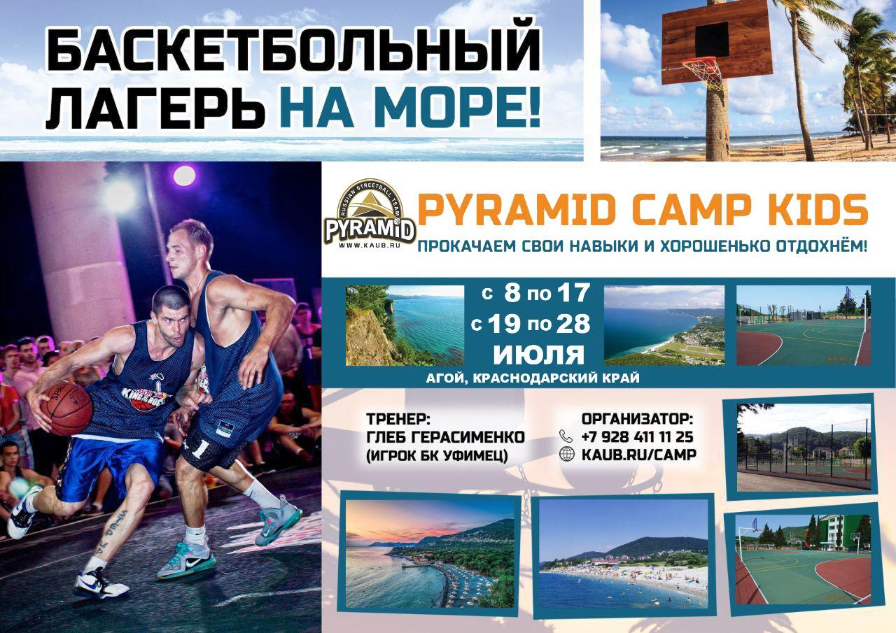Баскетбольный лагерь для детей