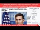 05-16-2018 - May 16th 2018 How Bannon's Cambridge Analytica Set Up Flynn, MI6 Dossier Bonanza