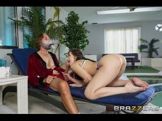 Aubree Valentine - Intrud-Her () [2020 г., Small Tits, Natural Tits, Sex, Masturbation, Voyeur, Ass Licking, Blowjob]
