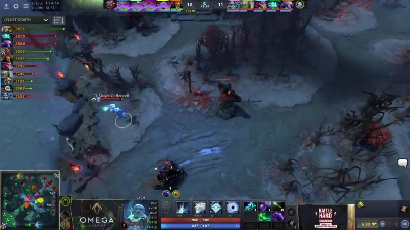 Cyber Legacy vs FlyToMoon OMEGA League Europe bo3 game 1 Adekvat CrystalM