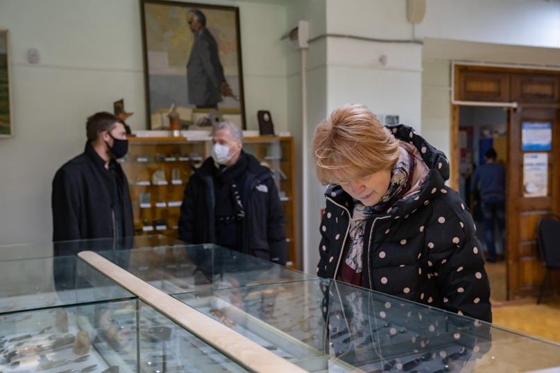 Президент Национальной галереи Коми Пьер Броше посетил Ухту, изображение №10