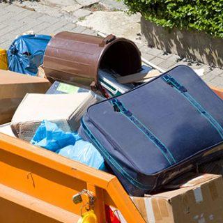 Как осуществить вывоз крупногабаритных отходов?