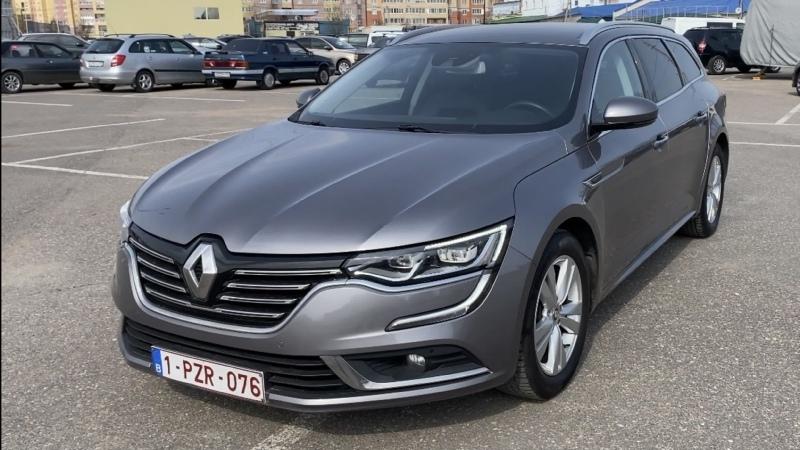 Выездная диагностика, ам Renault Talisman, 2016г.в., K9K 1.5-110л.с., Diesel, 6-МКПП, без пробега по РФ