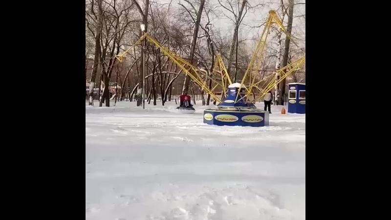 Новый аттракцион в парке активного отдыха Экстрим mp4