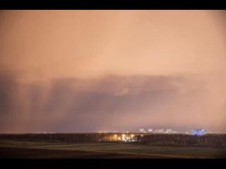 Невероятное зрелище😍 Северное сияние над Петербург...