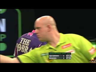 Michael van Gerwen vs Jelle Klaasen (PDC European Championship 2016 / Quarter Final)