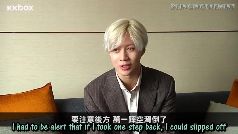 ENG720p 160601 Taemin KKbox Interview