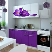 Кухня Фиалка. Фотопечать