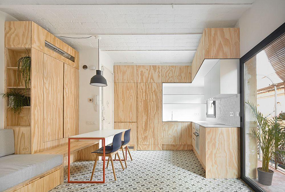 Квартира-студия 30 м в Барселоне.