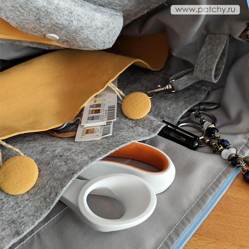 Сумка-органайзер для рукоделия, изображение №2