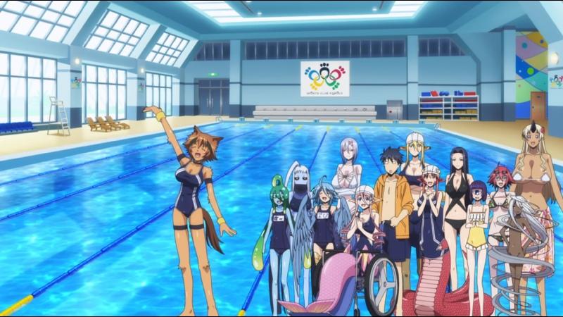 18 MiraiDuB Повседневная жизнь с девушкой монстром Monster Musume no Iru Nichijou 1 OVA MVO