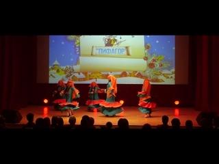 "Студия арабского танца ""Джамиля"" (младший состав). Танец ""Нубия"". Центр ""Пифагор"", г. Шадринск."