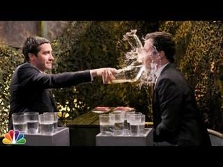 Water War with Jake Gyllenhaal [RUS SUB]