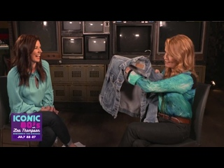 Lea Thompson On... Crew Jackets  Iconic 80s on HDNET MOVIES