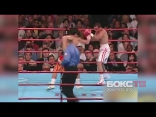 Первый бой Мэнни Пакьяо и Хуана Мануэля Маркеса