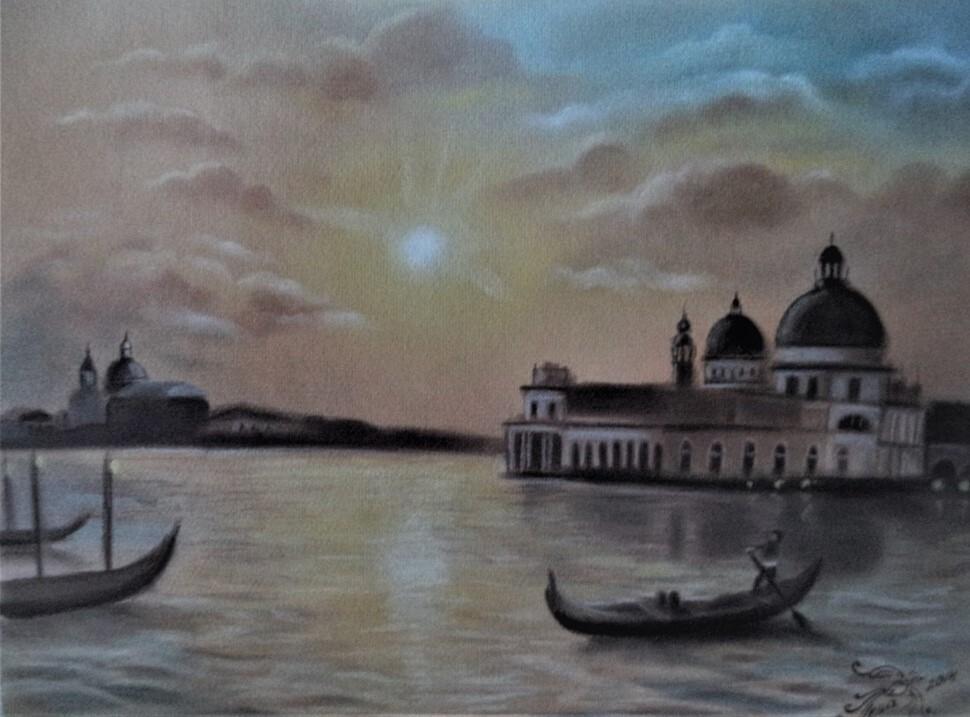 В художественной галерее Петровска открылась выставка работ Елены ЛЕВЩАНОВОЙ
