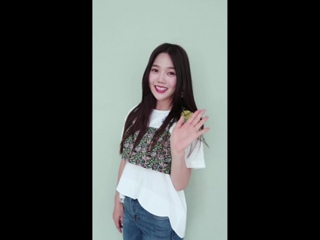 """· Message · 180910 · OH MY GIRL (Hyojung) · """"Remember Me"""" Special Style Card Video ·"""