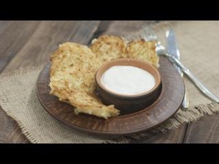 Капустные оладьи с сыром от Екатерины Костюк