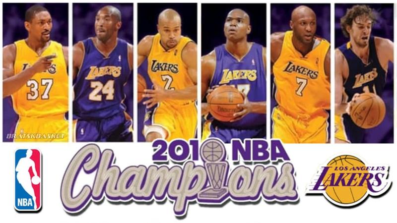 BratskBasket NВА Chаmpiоns 2009 2010 Los Angeles Lakers 2010 Rus ᴴᴰ