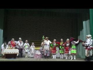 Семейный этно-фольклорный ансамбль «Танып тур сем» Куяновского МСДК Марийская  свадьба
