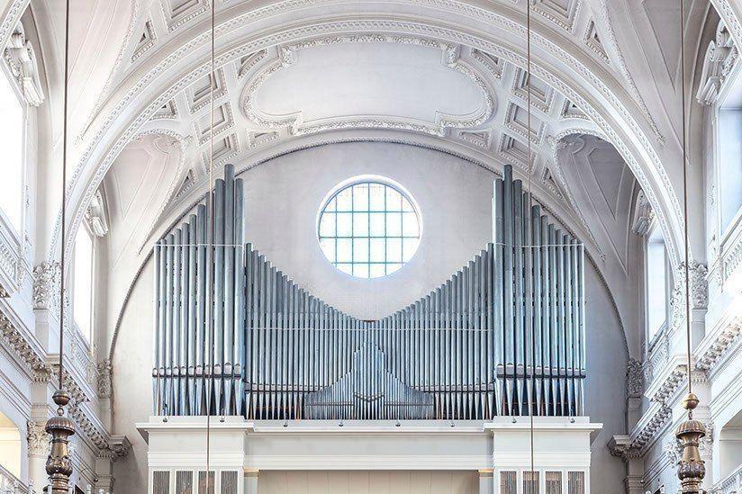 Красота музыкальных органов в снимках Robert Götzfried