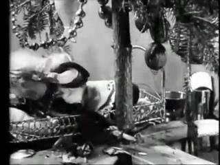 Рождество у обитателей леса 1913.Первый в мире Русский кукольный мультфилм