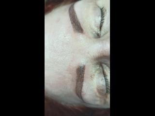 БОЛЬНО ЛИ ДЕЛАТЬ      ПЕРМАНЕНТНЫЙ МАКИЯЖ?Меня часто спрашивают больно ли делать перманентный макияж бровей? 🤔Многие боятся э
