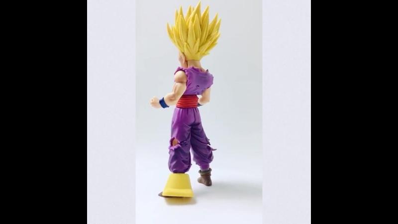 Фигурка dragon ball z super saiyan son gohan 23 см пвх звездный кусок гоку аниме коллекционная модель игрушка в подарок