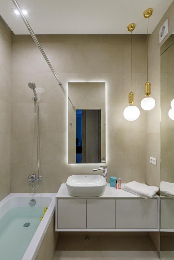 Дизайн квартиры 50 кв.