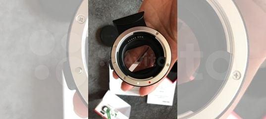 Объявление на Авито - Адаптер переходник для Canon EOS R