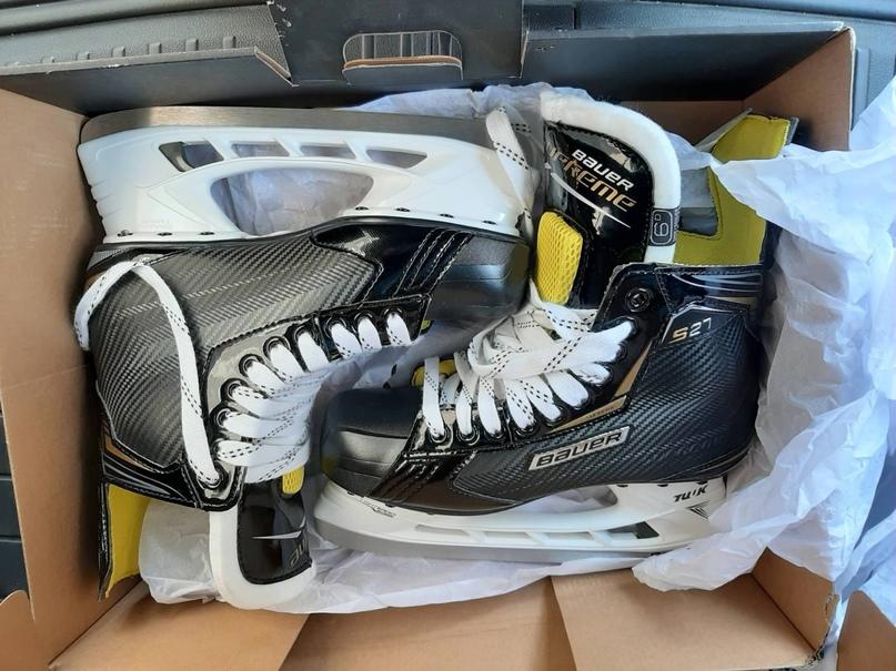 Коньки хоккейные новые BAUER SUPREME s27 размер | Объявления Орска и Новотроицка №28253