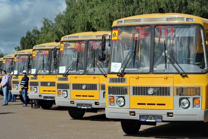 Удмуртия получит 86 новых школьных автобусов-На данный