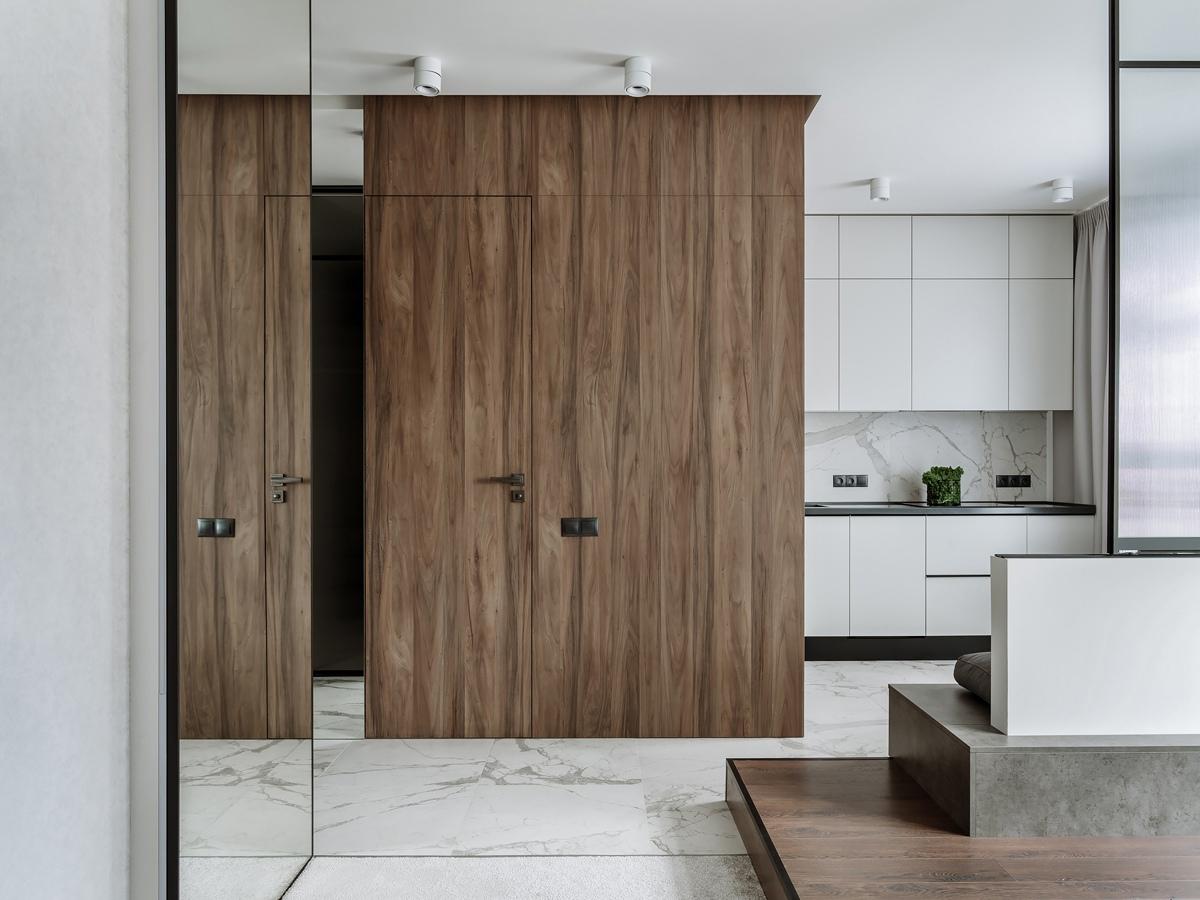 Дизайн квартиры-студии 35 кв.