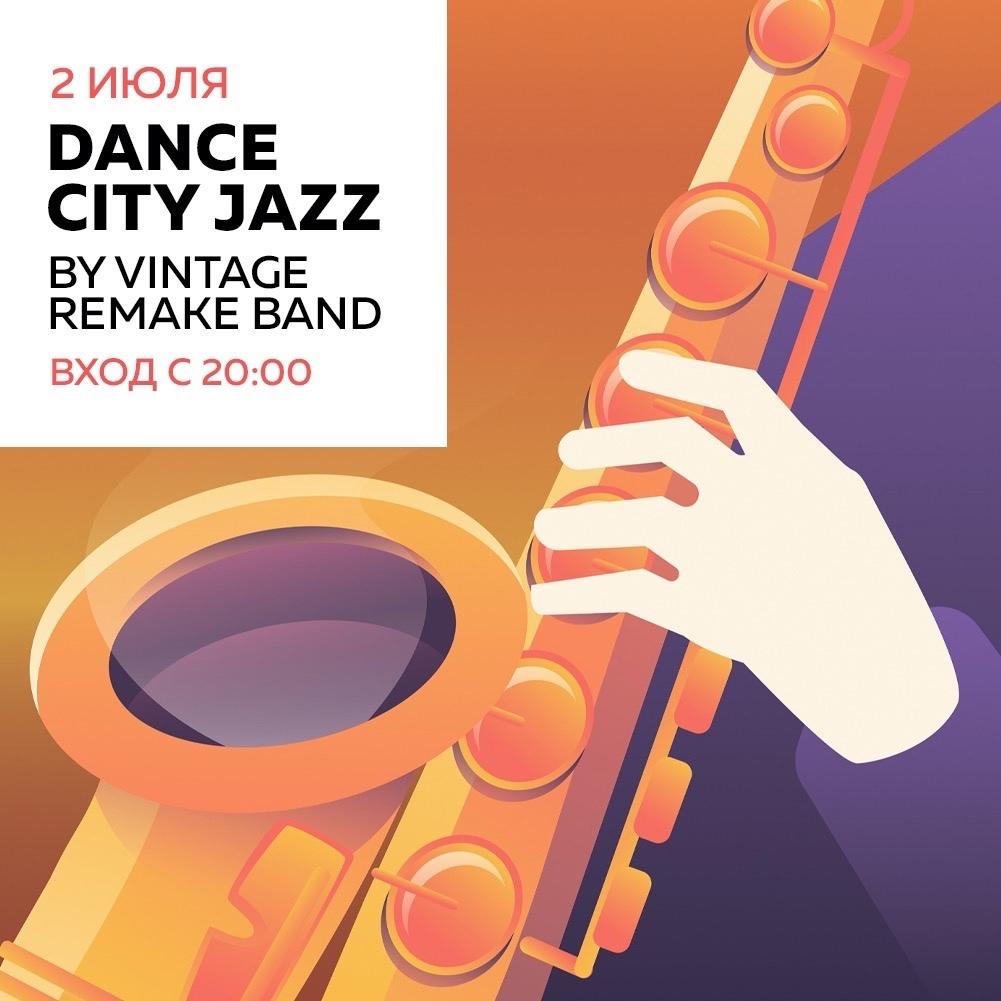 02.07 Dance City Jazz by Vintage Remake Band в Калининградском джаз клубе!
