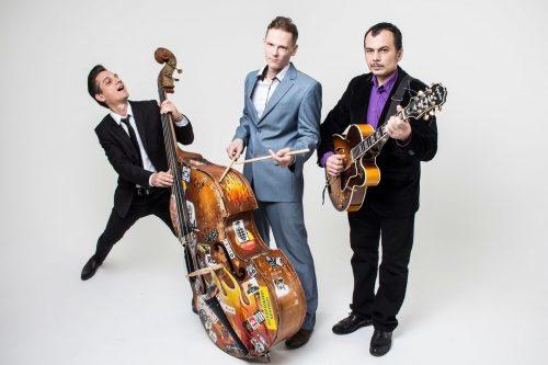 06.08 Рок-н-ролльное трио Алексея Фетисова в кафе Rhythm & Blues!