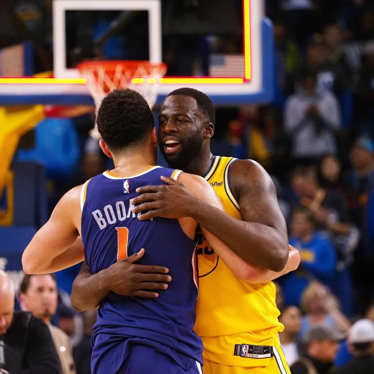 Дрэймонд Грин: очень уважаю этих трёх мужиков, которые едут к нам после Финала НБА