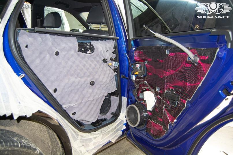 Комплексная шумоизоляция Audi Q5, изображение №20
