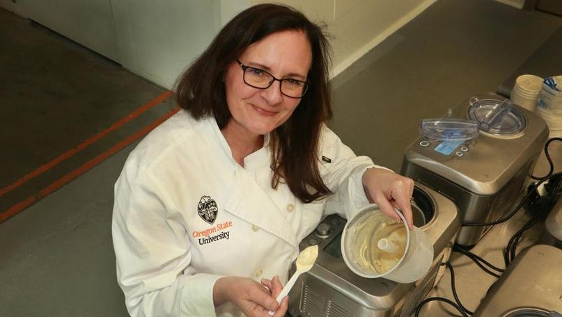 Сара Масрони, заведующая лабораторией пищевых инноваций в Портленде и дизайнер продуктов питания