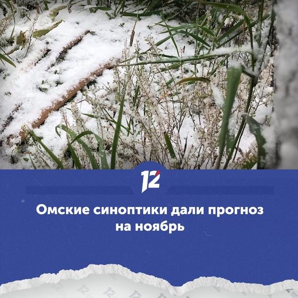 Омские синоптики дали прогноз на ноябрь ☃Снежный покров н...