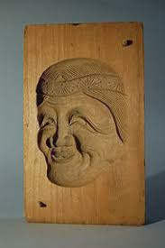 Японские деревянные резные формы Кашигата, изображение №25