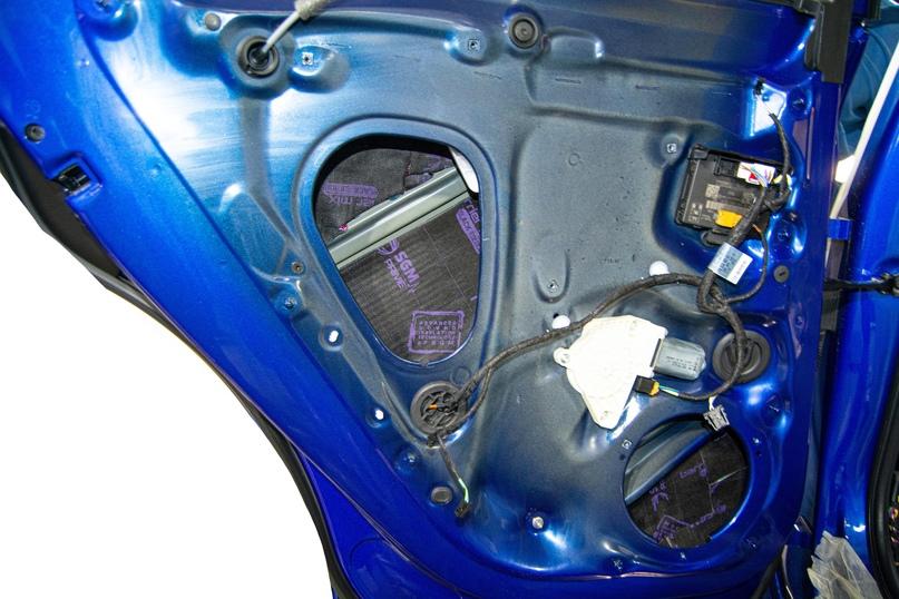 Комплексная шумоизоляция Audi Q5, изображение №11