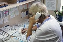 Записаться к медикам можно по телефону