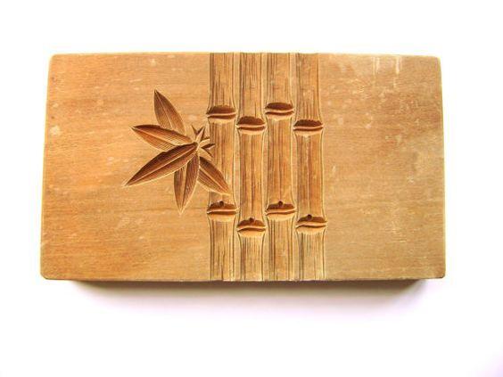 Японские деревянные резные формы Кашигата, изображение №18