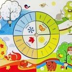 Календарные загадки про месяцы для детей