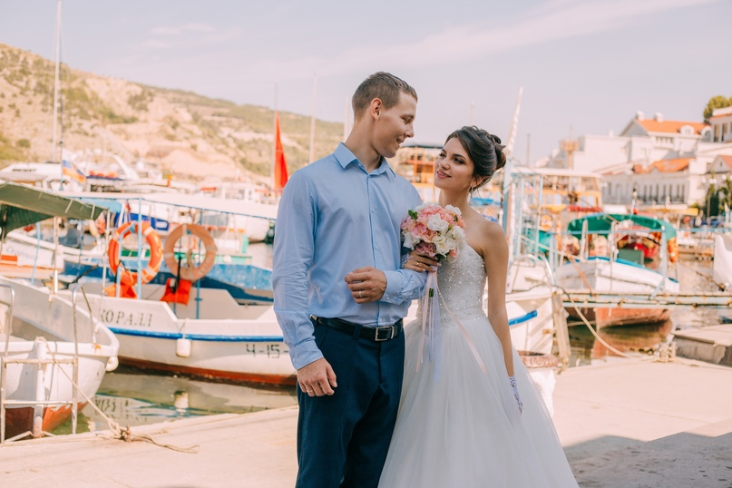 Свадебная съемка в Севастополе - Фотограф MaryVish.ru