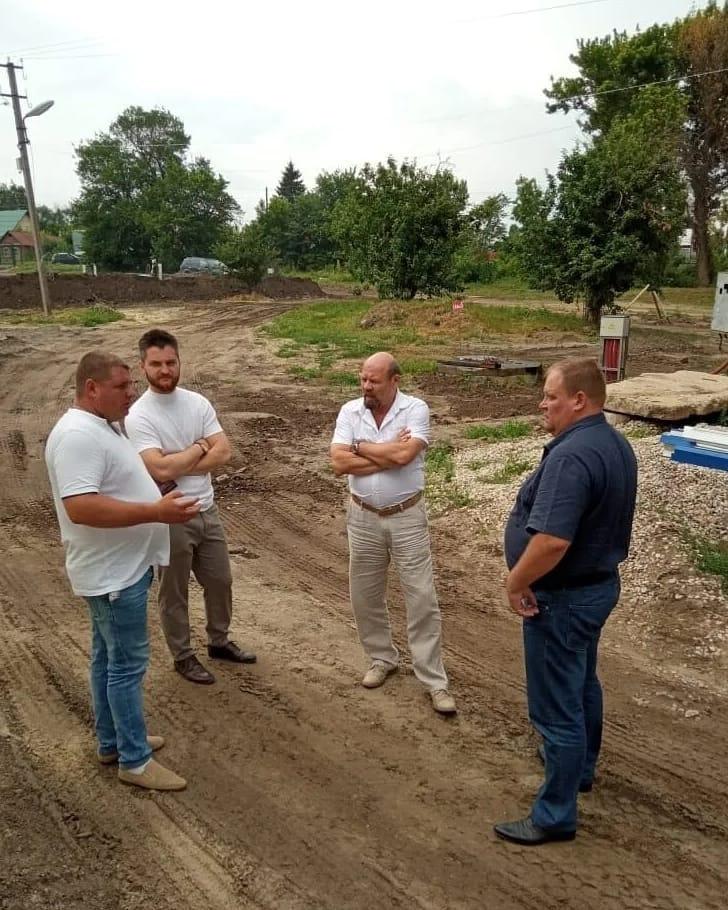 В конце августа должны завершиться все строительные и пусконаладочные работы на площадке водозабора №1 города Петровска