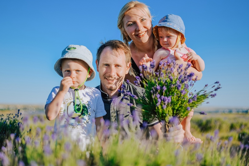 Семейная фотосессия в Оленевке - Фотограф MaryVish.ru
