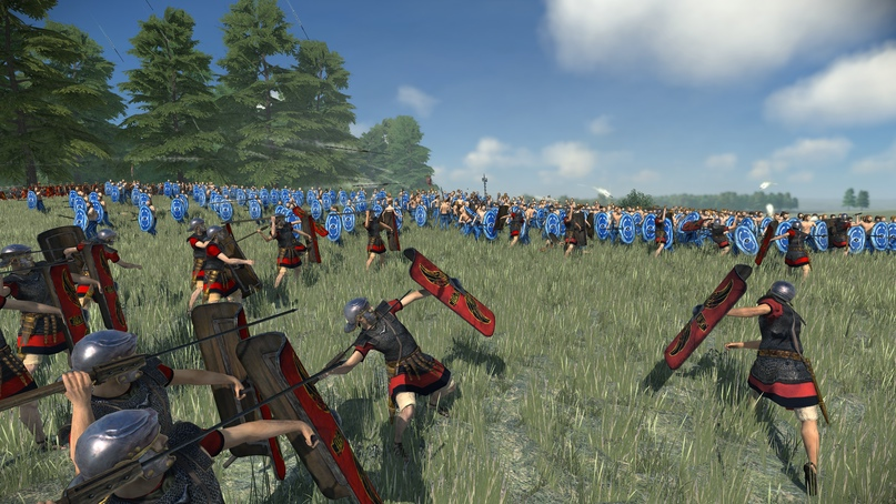 Total War: ROME REMASTERED [v 2.0.0] (2021) PC | RePack от Decepticon