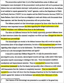 Судебные документы о деле 1993 года и злонамеренном преследовании Майкла Джексона., изображение №10